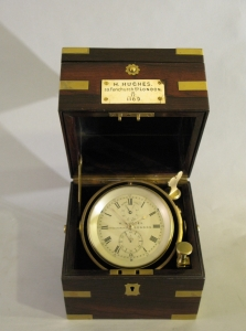 Cronometro da marina Hughes