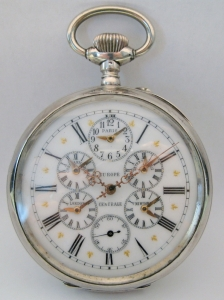 Grande orologio da tasca con fusorari