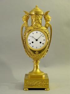 Vaso in bronzo dorato